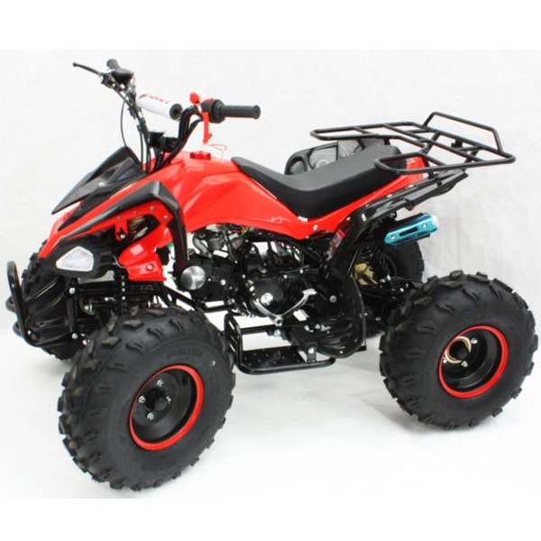 Hawkmoto Interceptor 125cc 2020 Auto Kids Quad Bike Speed – Red