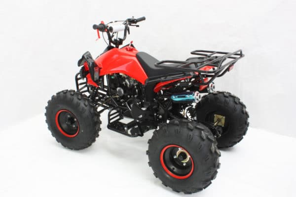 Hawkmoto Interceptor 125cc Kids Quad Bike 3 Speed – Red