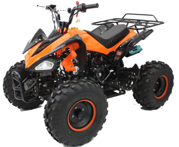 Hawkmoto Interceptor 125cc Kids Quad Bike 3 Speed – Orange