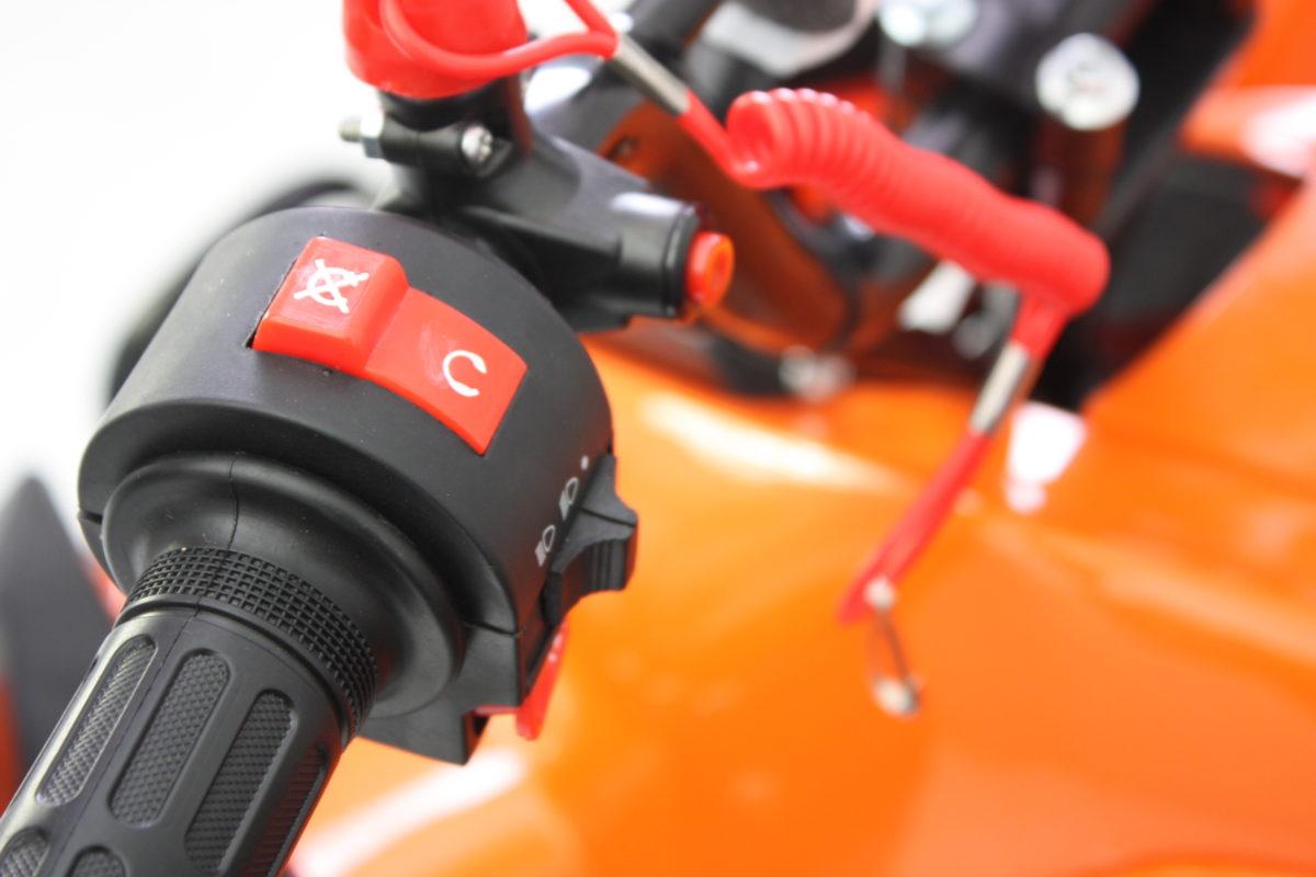 Hawkmoto Interceptor 125cc Kids Quad Bike 3 Speed – Orange