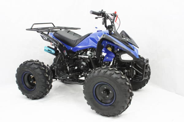 Hawkmoto 2020 Interceptor Automatic 125cc Kids Quad Bike – Blue