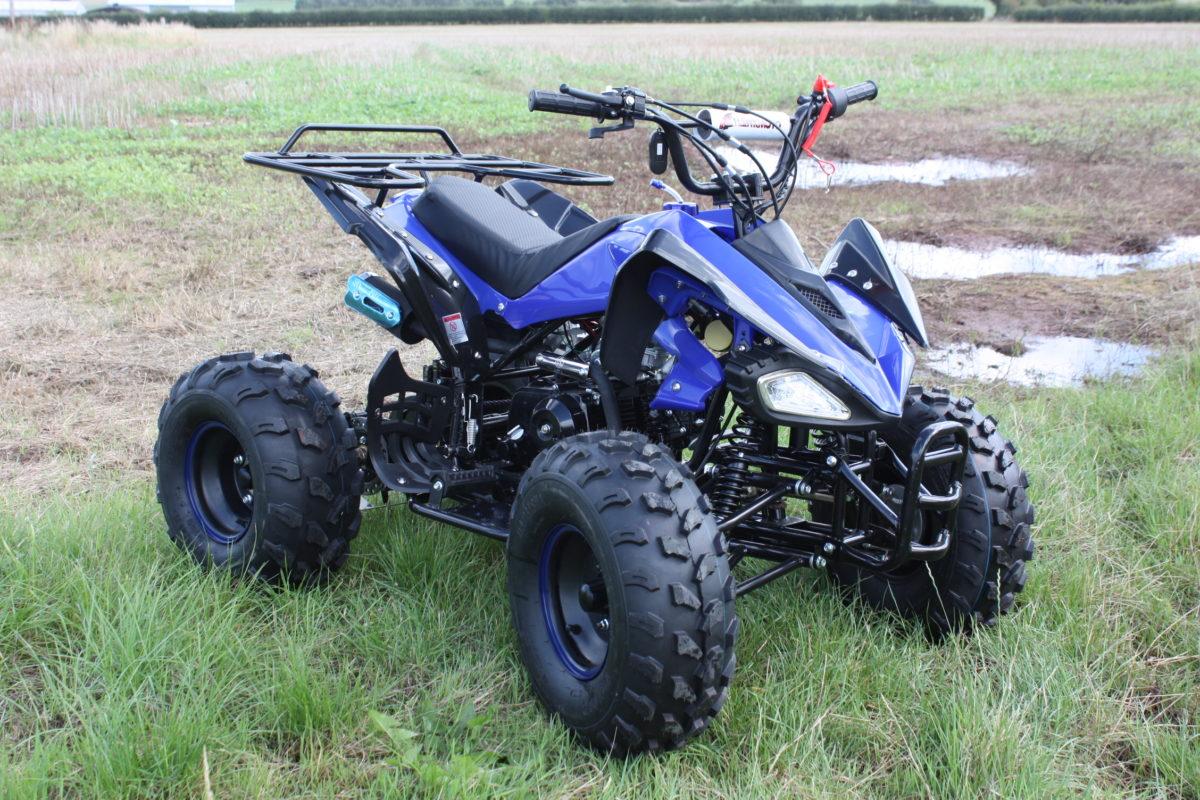 Hawkmoto 2020 Interceptor Automatic 125cc Kids Quad Bike – Blue