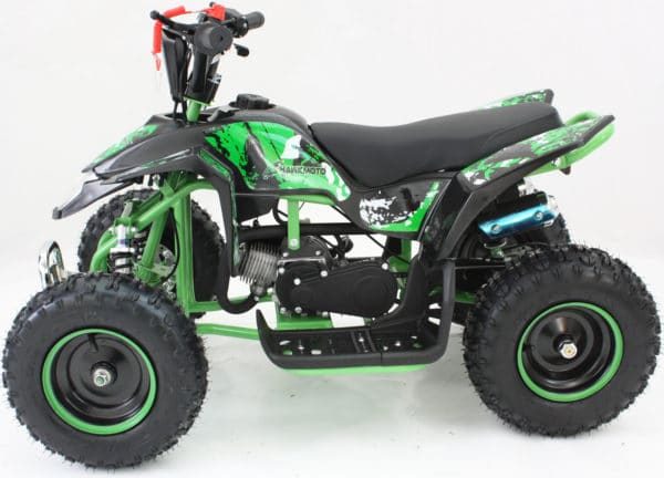 Hawkmoto Avenger 49cc Kids Quad Bike 2020 Edition – Wicked Green