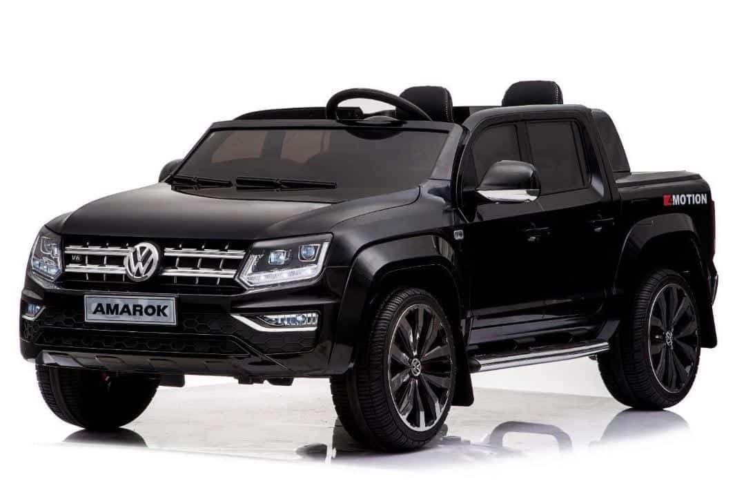 Vw Amarok Licensed 2020 Model Childrens Battery Ride On Jeep – Black