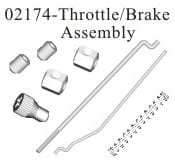 Throttle | Brake Assembly 1p (02174)