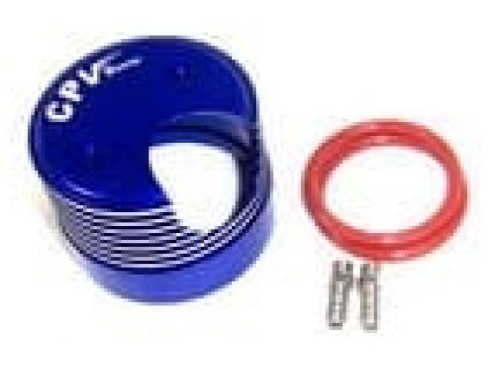 Blue Aluminum Heat Sink For Gp026  Gp026-16b