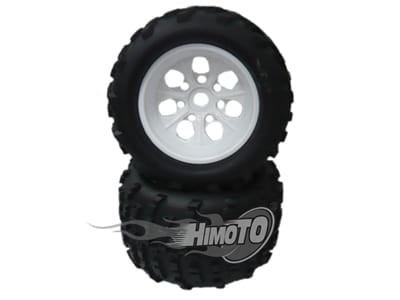 White  Rim Andamp;amp; Tyre Complete (89104+89106w)  (89105w)