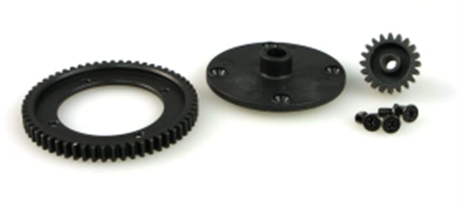 9940505 6558-t002 Spur And Pinion Gear Set (steel)