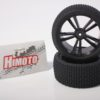 Black Buggy Rear Tires And Rims 2p (31310b)