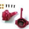 Himoto Aluminium Front Steering Hubs (red) (78-p010tr)