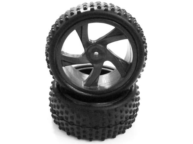 Himoto Rc Gray Buggy Wheels(28659v)