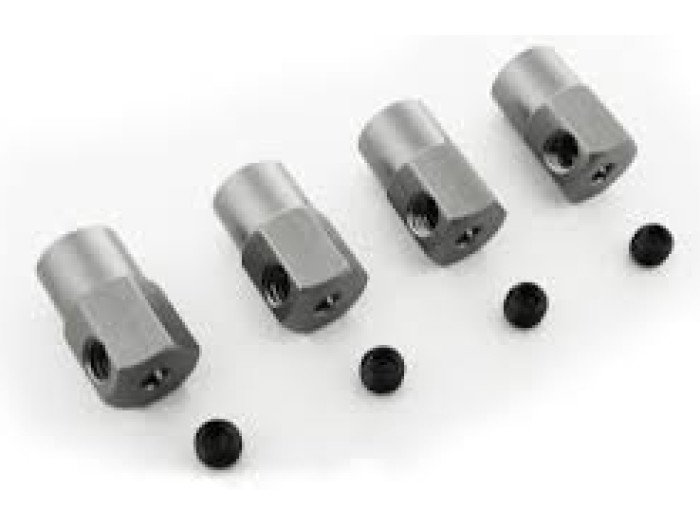 Himoto Mx400 Chassis Lock Nuts 4p (mx5065)