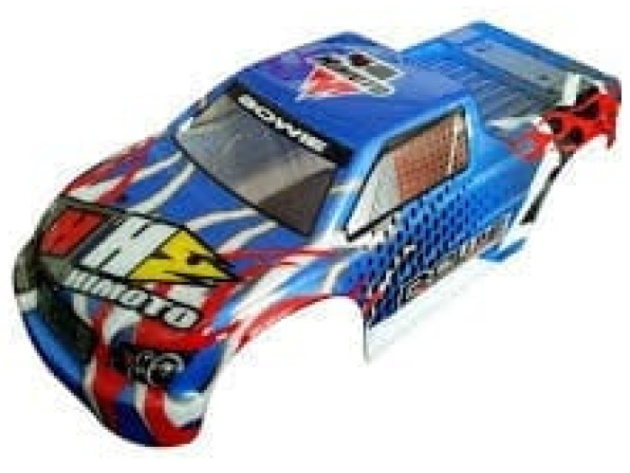 Himoto 1:10 Bowie Monster Truck Body Shell (blue) (31806)