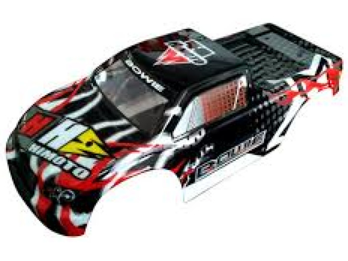 Himoto 1:10 Bowie Monster Truck Body Shell (black) (31807)