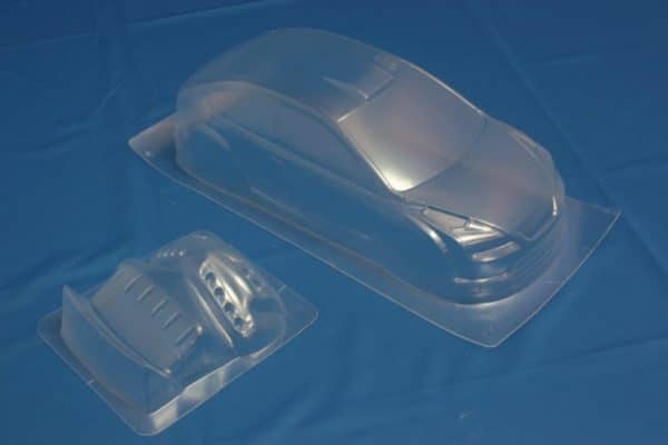 Himoto 1:10 On-road Clear  Body Shell Ford Focus (pc201004r-3a)