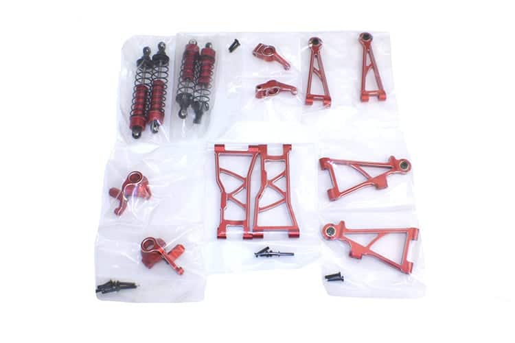 E10 Aluminium Chassis Upgrade Kit (e10mst-s1) To Fit Short Course And Buggy