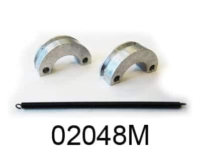 Metal Clutch Shoe W|spring 1set (02048m)