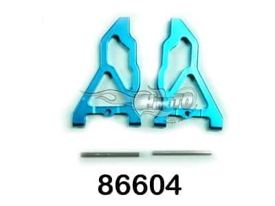 Upgrade (86604) Aluminium Front Lower Suspension Arms 2p (286019)
