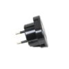 Details About  Uk To Eu Euro Europe European Travel Adaptor Plug 2 Pin Adapter Ce Approved