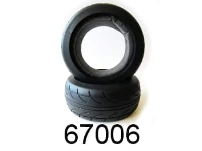 Tires With Foam Insert 2p (67006)