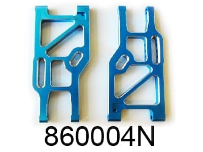 Aluminium Blue Rear Lower Suspension Arm (860004n)