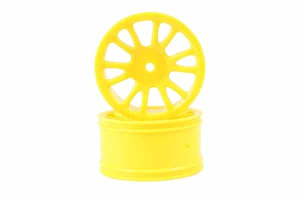 Yellow Savage Rear Rims 2p  (85022)