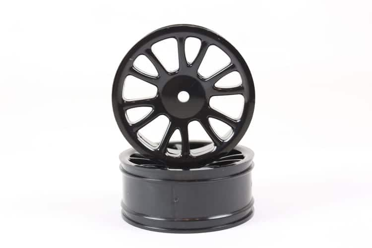 Black Savage Front Rims 2p  (85005)