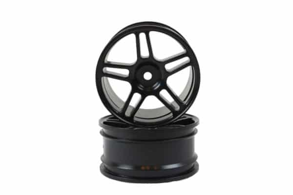 Black Super Star Spoke Rims 2p  (02228)