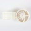 White Super Star Spoke Rims 2p  (02228)