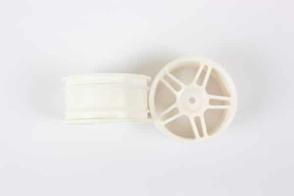 White Super Star Spoke Rims 2p  (02228)