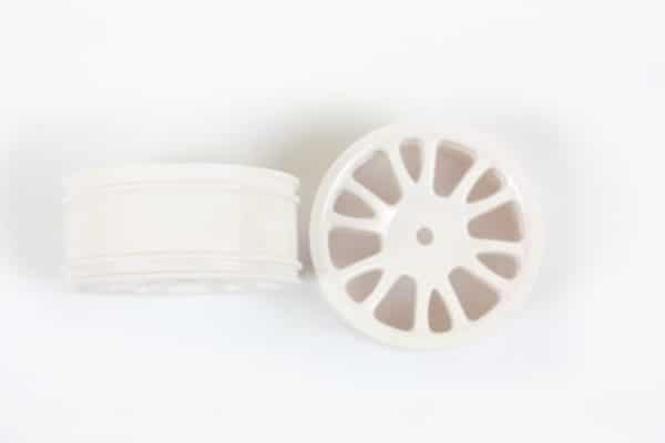 White Savage Front Rims 2p  (85005)