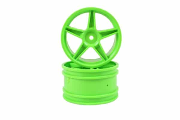 Green Super Star Rear Rims 2p  (06024)