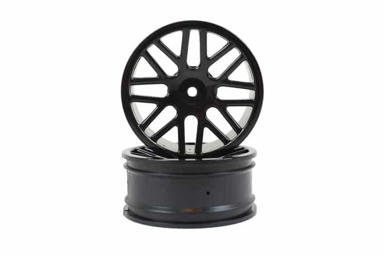 Black Mesh Front Rims 2p (06101)