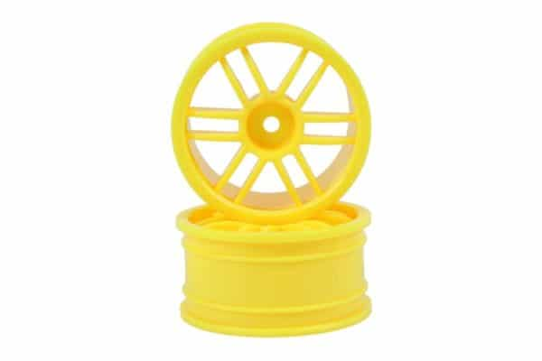 Yellow 12 Spoke Rims 2p  (02018)