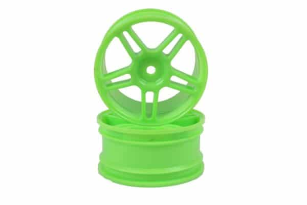 Green Super Star Spoke Rims 2p  (02228)