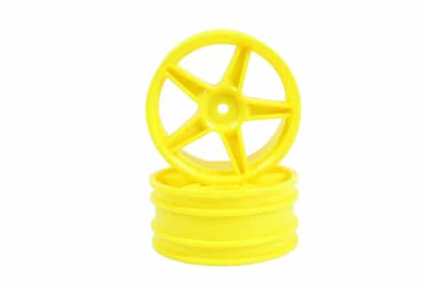 Yellow Super Star Front Rims 2p (06008)