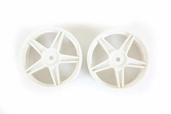 Rc White  Rims 2p (06008)