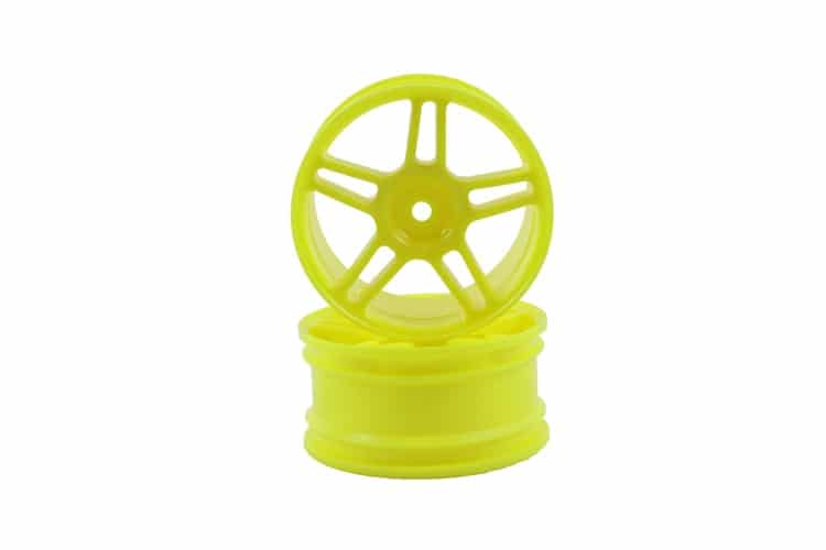 1/10 Scale On-road Rc Car Rims Yellow  (02228)