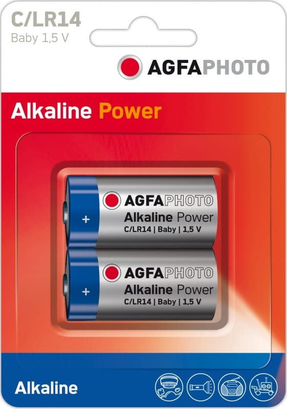Agfaphoto Digital Alkaline Batteries C