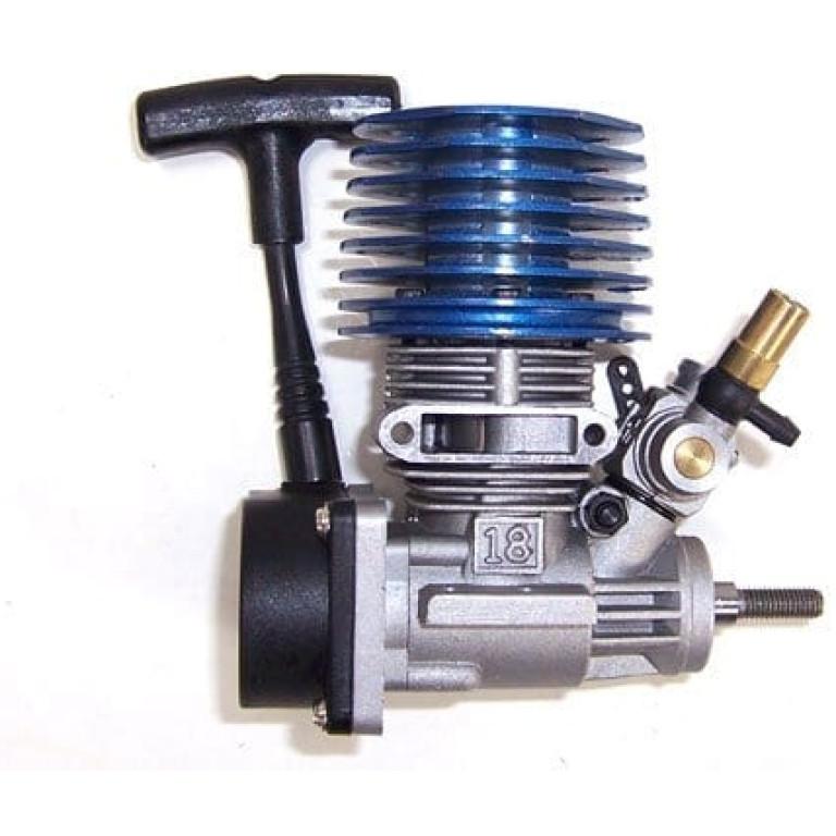 Sh-18 Nitro Engine With Slide Carb (02060sh18b)