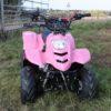 Hawkmoto 110cc Boulder Kids Quad Bike – Pink