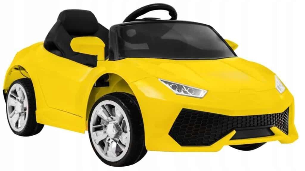 Lamborghini Aventador Style 12v Ride On Childrens Electric Car – Yellow