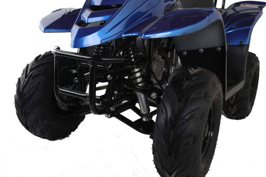 Hawkmoto 110cc Boulder Kids Quad Bike – Metallic Blue