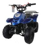 Hawkmoto 110cc Boulder Kids Quad Bike – Metallic Blue