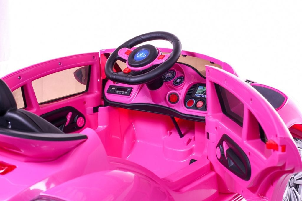 Ride On Vw Beetle Style Kids Ride On Car – Pink