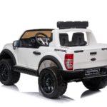 Ford Ranger Raptor 2020 Licenced 12v Kids Ride On – White