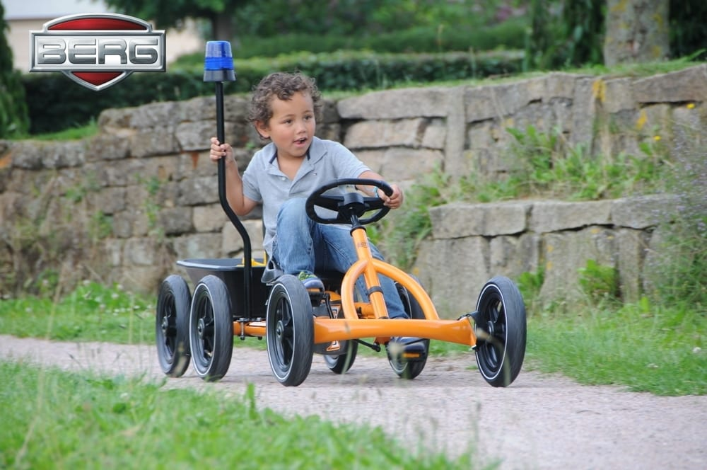 Berg Flashing Light Cover Blue Go Kart Accessory