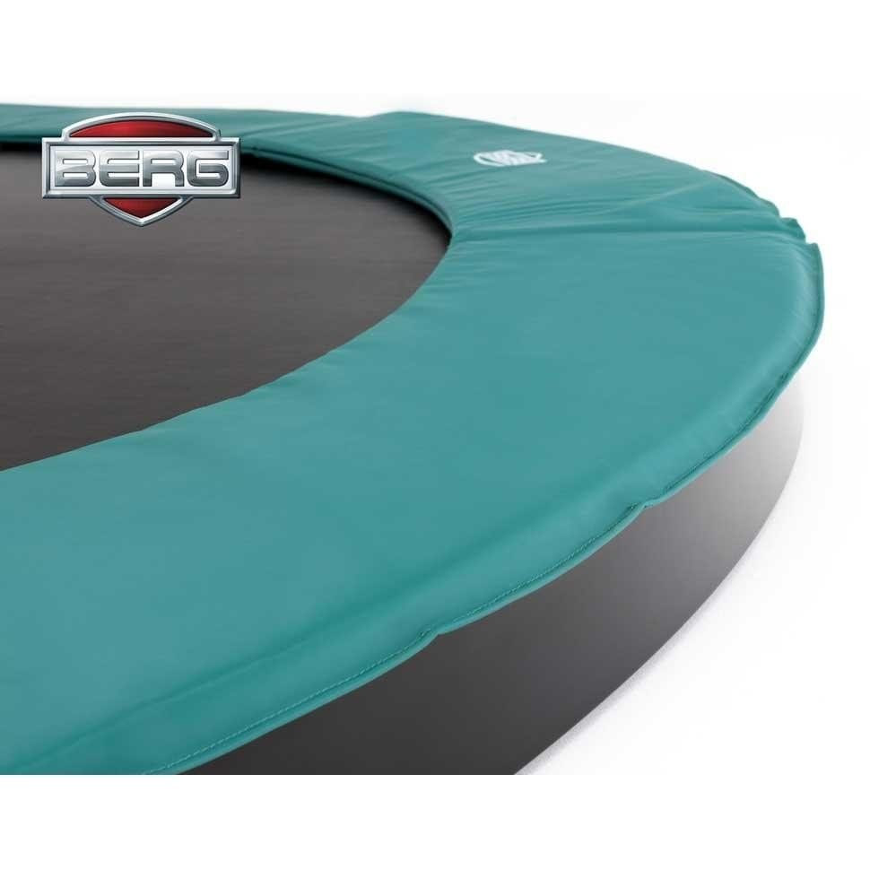Berg Inground Champion 380 12.5ft Trampoline – Green