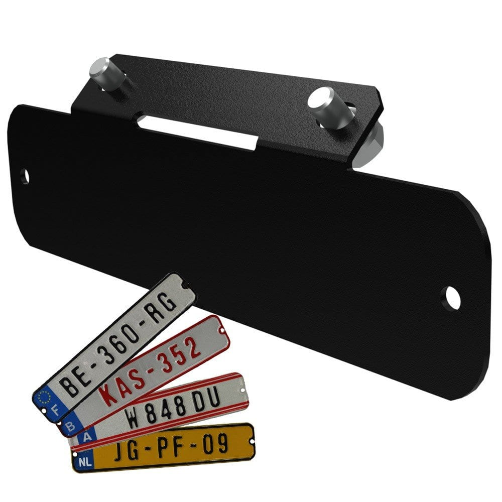 Berg License Plate Kit (for Xl Frame) – Go Kart Accessory