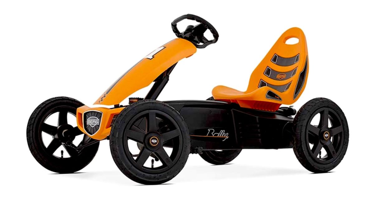 Berg Rally Orange Kids Pedal Go Kart